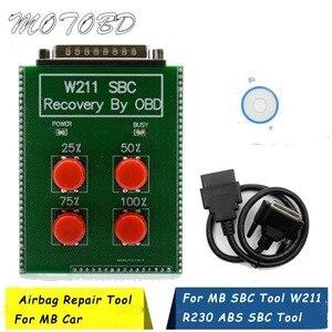 Быстрая бесплатная доставка W211/R230 ABS/SBC инструмент код для ремонта C249f для MB Obd SBC сброс инструмент Sbc инструмент для ремонта