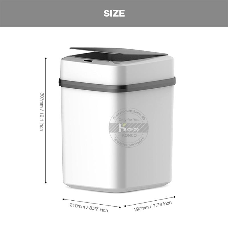 Prullenbak Automatische Sensor Emmer Vuilnis Vuilnisbak Milieuvriendelijke Afvalemmer Badkamer Waste Bins Aliexpress