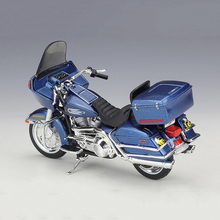 цена на Maisto 1/18 1:18 Scale 1980 FLT Tour Glide Motorcycle Diecast Display Alloy Collectible Models Children Boys Kid Toys