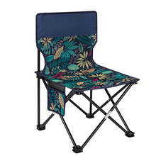 Outdoor Camping Chair Oxford Cloth Portable Folding Lengthen Camping Seat for Fishing Festival Picnic BBQ Beach Ultralight Chair cheap CN(Origin) Metal Beach Chair Outdoor Furniture Modern
