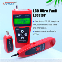 NF 308 Netzwerk überwachung kabel tester LCD Draht Fault Locator LAN Netzwerk Coacial BNC USB RJ45 RJ11 rot farbe NF_308|cable tester|cable tester lcdrj45 rj11 -