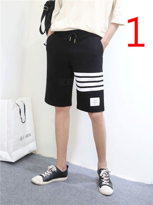 Summer Cropped Trousers Male Korean Version Of The Tide Slim Thin Section Trend 7 Points Pants Elastic Wild