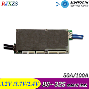 Image 1 - 16S to 32S smart ant bms new DIY Lifepo4 li ion 50A/80A/100A/110A/120A smart bms pcm  with android Bluetooth app monitor