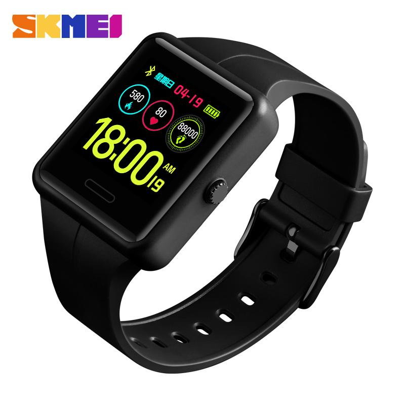 SKMEI Watches Men Digital Watch Bluetooth Connection Multifunction 3Bar Waterproof Sport Watches Relogio Inteligente Masculino