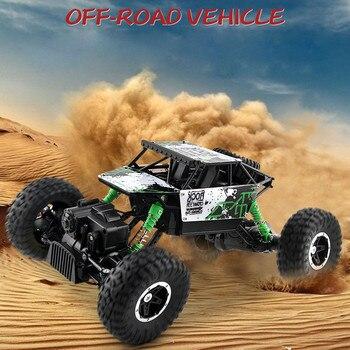 ¡Novedad de 2020Top! Control remoto de Radio Cemote 1/16 2,4 GHZ 4WD, todoterreno, coche a Control remoto, Buggy ATV, camión M-onster, Juguetes Para Ninos
