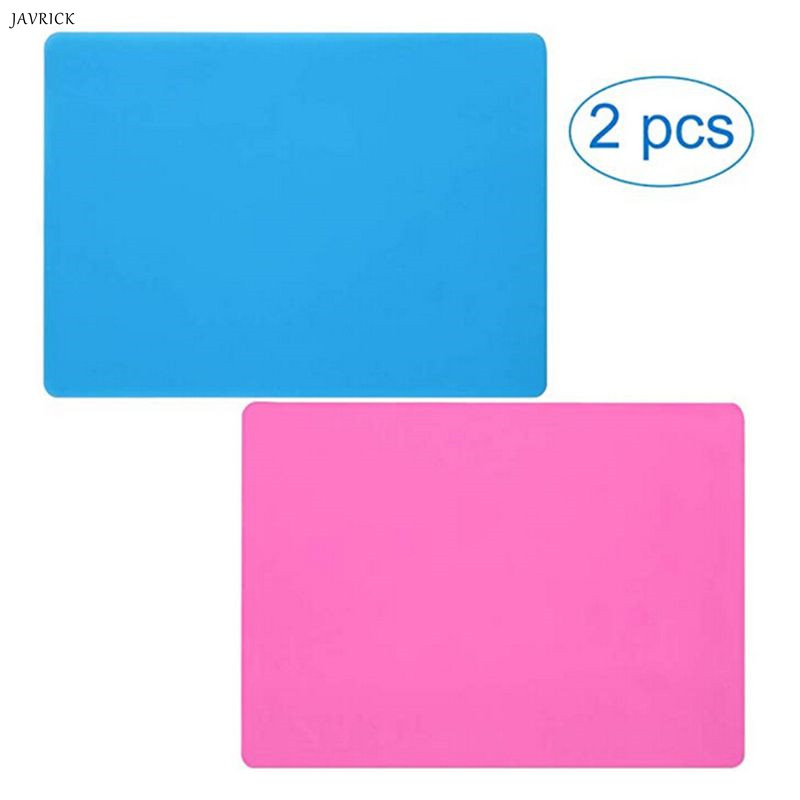 2 Pc Extra Large Silicone Sheet Crafts Jewelry Casting Molds Mat Skid Waterproof Multipurpose