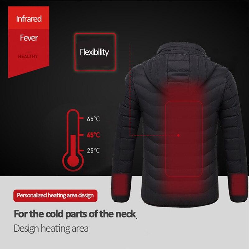 livre usb aquecimento infravermelho com capuz jaqueta 03