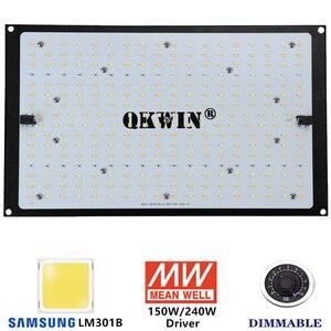Image 3 - Предварительная продажа 120 Вт 240 Вт светодиодная световая доска Samsung LM301B QB, встроенная с 3000K 5000K 660nm IR полный спектр DIY MW драйвер