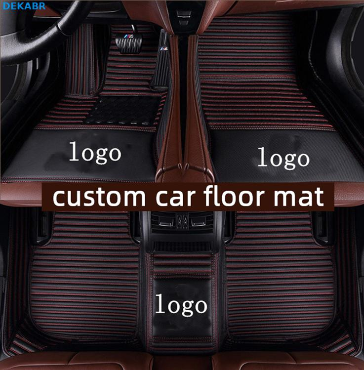 Car Floor Mats 3 Row Liner Set For 2015 2016 2017 2018 2019