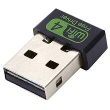 Драйвер 150 Мбит/с Usb Wifi адаптер 2,4 ГГц беспроводной Ethernet сетевой приемник карты для ПК Windows