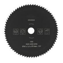 85 мм* 10 мм 72T HSS круговое колесо режущего диска для дерева металла HighQ круговое