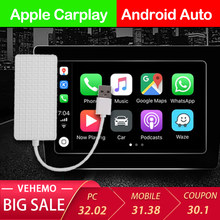 VEHEMO Mini Apple Dongle Carplay W205 Carplay Adapter Usb Android Spiegel Link Usb Cablefor Auto Navigation TV Empfänger für Auto