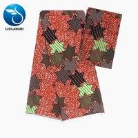 LIULANZHI african nigerian wax chiffon material ankara chiffon sewing fabric 2019 chiffon dress ML9X70 73