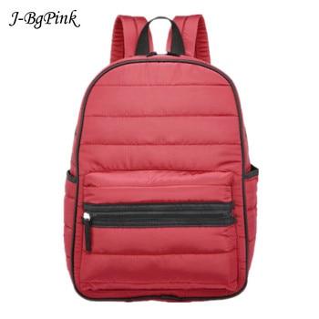 2020 New Women Winter Space Cotton Computer Backpack Notebook School bag Unisex Large Capacity waterproof business Bagpack