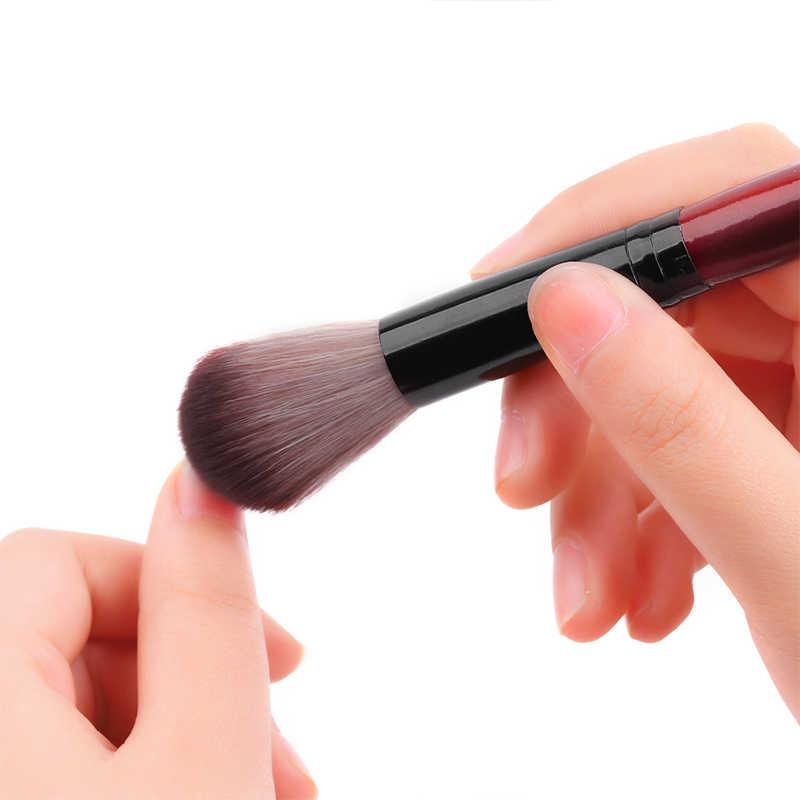 1 шт кисть для пудры для ногтей деревянная кисть для очистки макияжа акриловый гель для удаления порошка для дизайна ногтей Очищающая от пыли Косметическая Мягкая многофункциональная