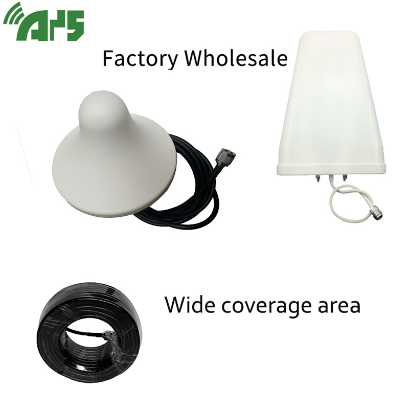 Full Set Omnidirectional Antenna Signal Repeater Booster Accessories For GSM UMTS DCS AWS PCS 3G 4G LTE 800-2700MHz Frequencies