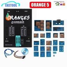 오렌지 5 전체 어댑터 OEM 프로그래밍 장치 소프트웨어 V1.34 하드웨어 + 향상된 기능 Orange5 PLus V1.35 With USB Dongle