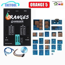 Orange 5 Full Adapters OEM Programming Device Software V1.34 Hardware + Enhanced Function Orange5 PLus V1.35 With USB Dongle