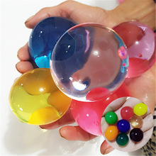 9/55pcs/lot Very large Crystal Soil Mud Hydrogel Gel Kids Children Toy Water Beads Growing Up Balls Wedding Home Decor