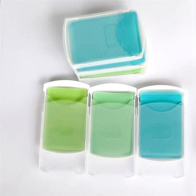 New 50 Pieces Mini Soap Paper Hand Wash Skin Care Soap Traveling Traveling Safe Environmental Friendly Disposable Paper Soap 2