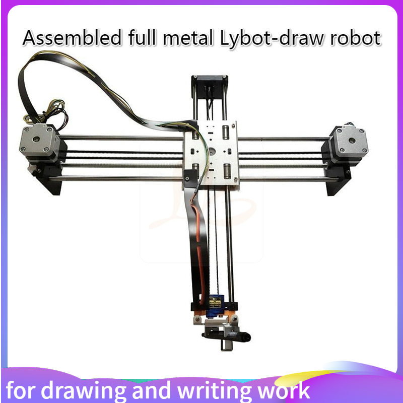Montajli Tam Metal Cizim Robot Makinesi Cnc Akilli Robot Cizim Yazma Is Ve Taklit Insan El Yazisi Ahsap Yonlendiriciler Aliexpress