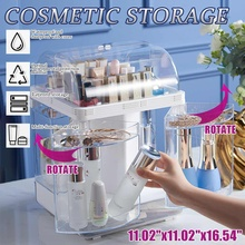 Makeup Organizer Drawers ABS Cosmetic Storage Box Jewelry Container Make Up Case Makeup Brush Holder Organizers Box