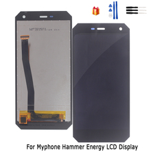 Original For myPhone Hammer Energy LCD Display Touch Screen High Quality Digitizer Assembly Glass Panel  Replacement