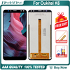 "BingYeNing 6.0"" For Oukitel K6 LCD&Touch screen Digitizer with frame display Screen phone accessories assembly replacement tools"