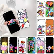 CUTEWANAN DORA THE EXPLORER Phone Case For Vivo Y91c Y17 Y51 Y67 Y55 Y93 Y81S Y19 V17 vivos5(China)