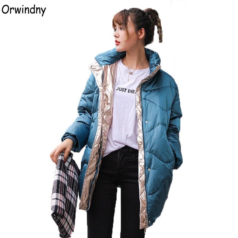 Orwindny Winter   Down     Coat   Jacket Women Medium Long White Duck   Down   Jacket Bread Waterproof Female Jacket Stand Collar   Down     Coats