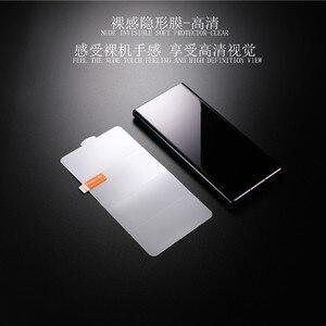 Image 2 - 25 قطعة غطاء كامل هيدروجيل فيلم حامي الشاشة لسامسونج غالاكسي S20 زائد الترا S10 S9 S8 S10E نوت 10 زائد 8 9 ل Z FLIP