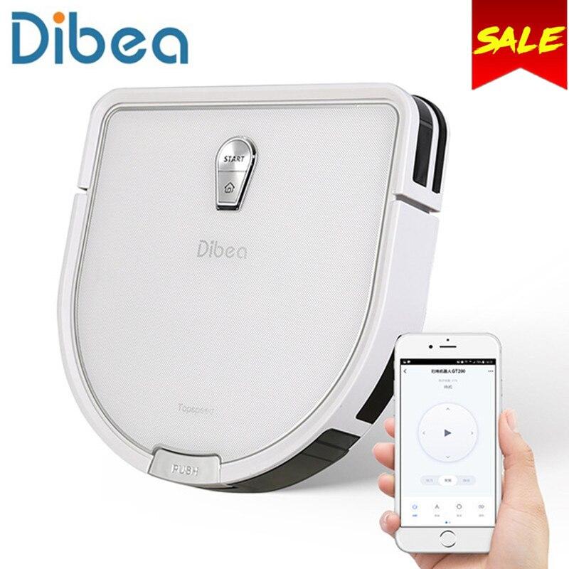 Dibea GT200 Smart Gyroskop Roboter-staubsauger Für Home Automatische Kehren Staub Sterilisieren Smart Geplant Waschen Wischen