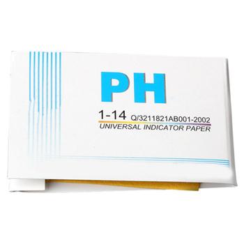 160 sztuk uniwersalny pełny zakres 1-14 papierek lakmusowy paski zestaw lakmusów instrumenty pomiarowe i analityczne sprzedaż TB tanie i dobre opinie NONE CN (pochodzenie) 160 Pcs PH Paper Test