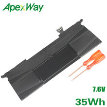 "ApexWay Battery A1406 for Apple Macbook Air 11.6"" A1370 MC965 for Macbook Air 11"" A1465 2012 Version A1370 2011 Version(China)"