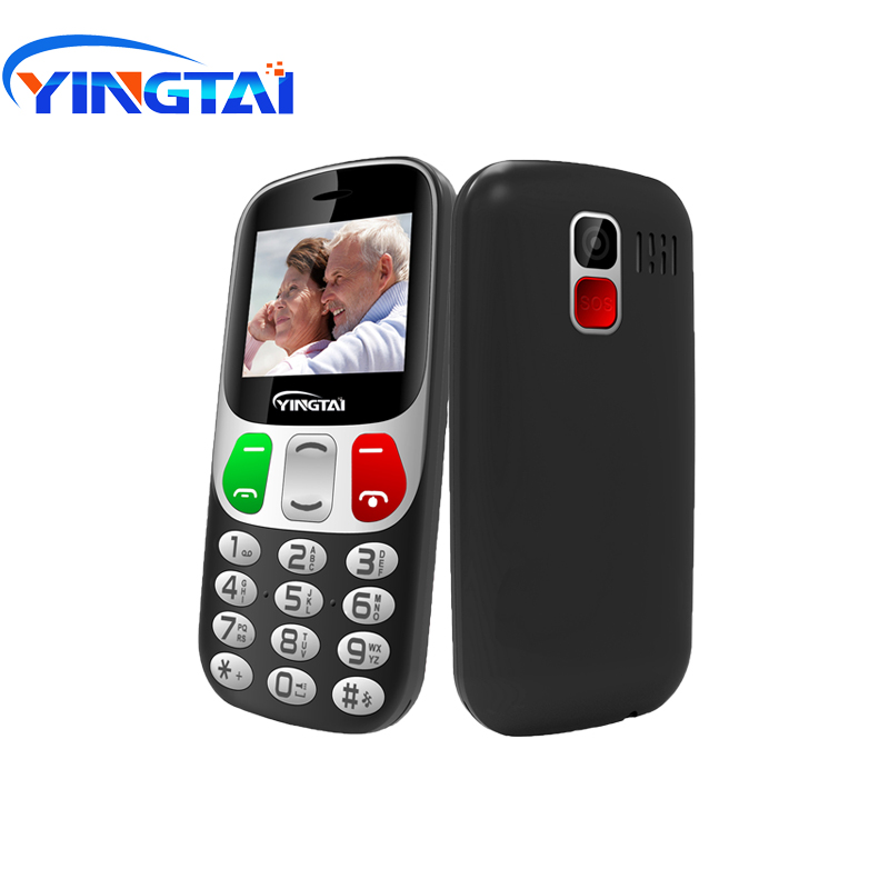 New model Old Man 2G GSM Mobile Phone YINGTAI T47 Strong Torch Senior Cellphone for Elderly Big SOS Large Button Key Big speaker