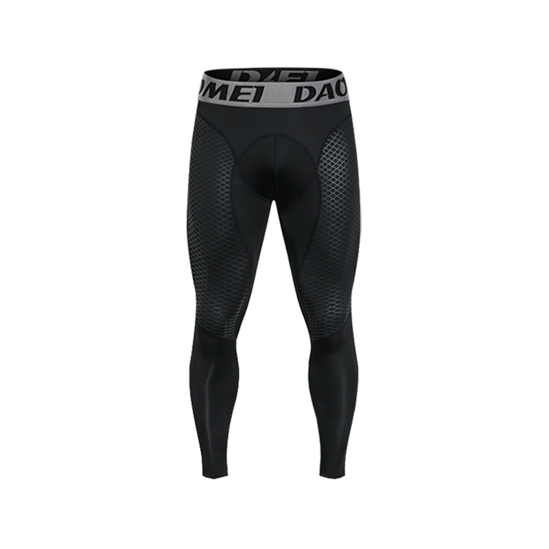 Compression Pants Tight Leggings Trousers Yoga-Bottoms Training Fitness Workout Men Sports Running Gym Man Racing Clothing