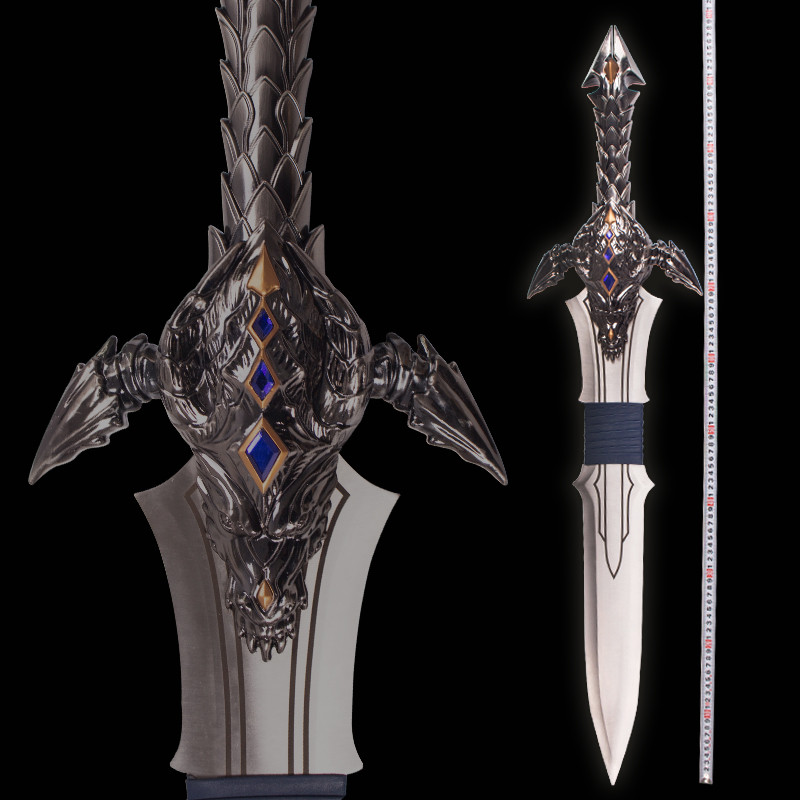 World Of Warcraft Movie Losa S Sword Dragon Claws Len King Sword