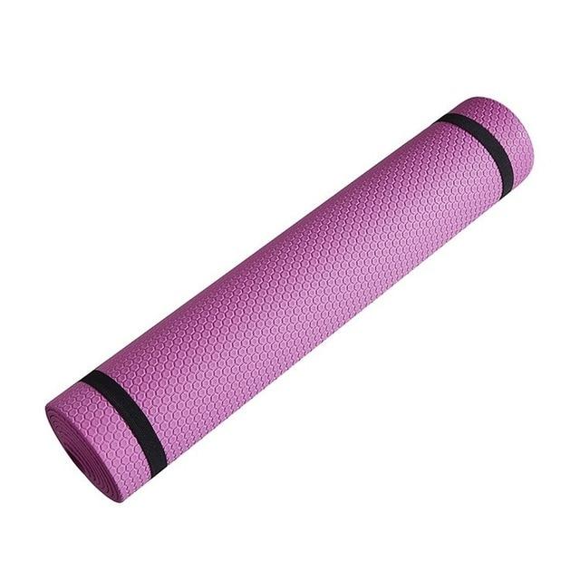 Yoga Mat Anti-skid Sports Fitness Mat  4