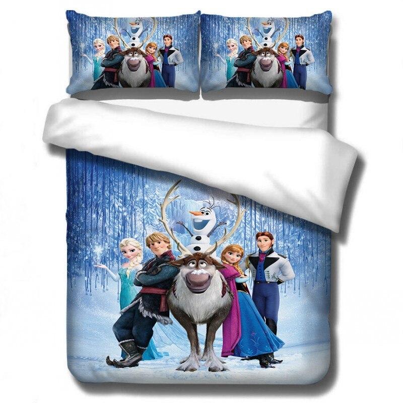 Disney dos desenhos animados congelados princesa conjuntos