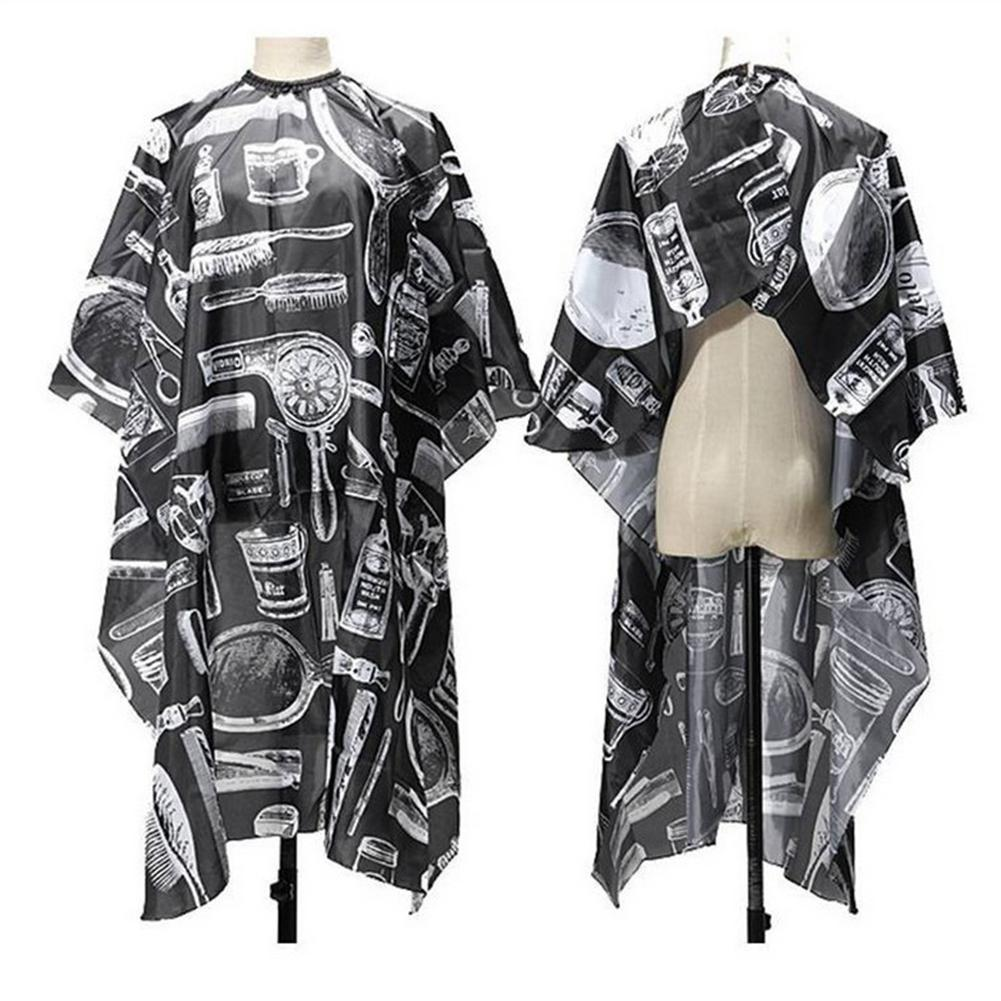 Yiwa Professional Hairdressing Cape Cover Waterproof Hair Cutting Cloth Salon Barber Gown Tool