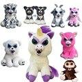 Домашние животные Fnaf Feisty, 20-22 см, панда, динозавр, мишка тедди, обезьяна, кошка, сова, кролик, собака, сменяющее лицо, мягкие животные, плюшевые ...