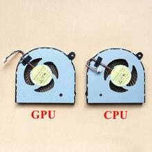 Nuevo ventilador de refrigeración de la CPU del ordenador portátil para Acer Aspire Nitro VN7-591 VN7-591G ventilador enfriador DFS531005PL0T FG2C AB07505HX070B00 00CWH860