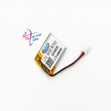 Литий полимерная аккумуляторная батарея JST XH 2,54 мм 602530 3,7 в 600 мАч для Mp3 наушников PAD DVD bluetooth камеры