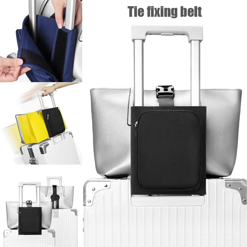 Portable Luggage Straps Trolley Fixed Bag Fixing Multifunctional Travel Organizer Fashion Luggage Accessories Unisex Storage Bag