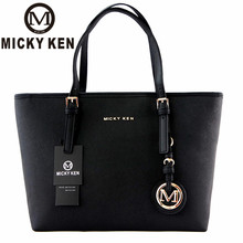 MICKY KEN Brand New 2017 Women Handbags Big Pu Leather High Quality Letter Female Bag Designer Bolsos Mujer Sac A Main Totes