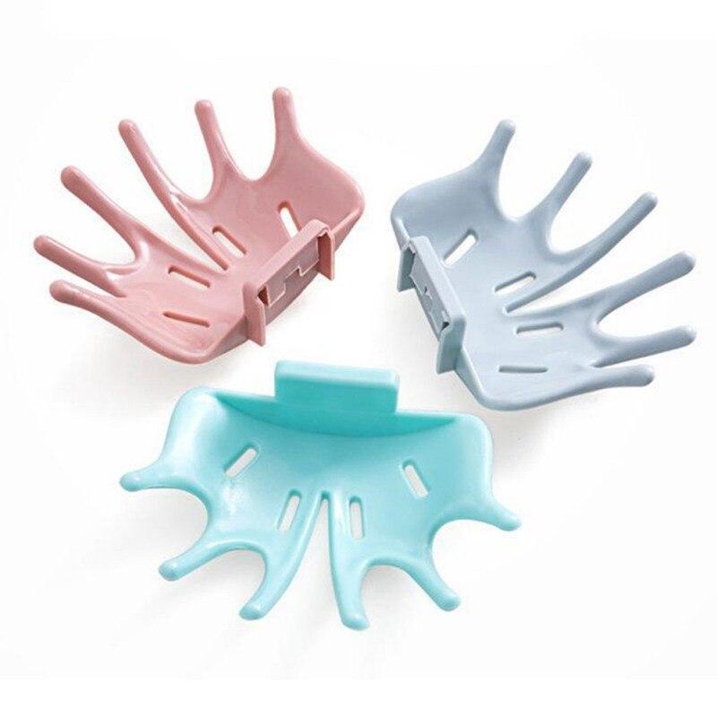 Настенный тип хранения мыла плиту многофункциональный мыльница домашний пунш-бесплатная присоске тип мыла слив для одежды ванная комната