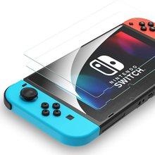 Nintend interruptor de vidro temperado protetor de tela filme para nintendo switch console ns tela lcd proteção capa jogos acessórios
