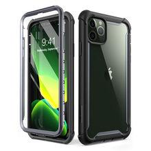 """Para iphone 11 pro max caso 6.5 """"(2019 de liberação) i blason ares corpo inteiro áspero claro pára choques capa com built in protetor de tela"""