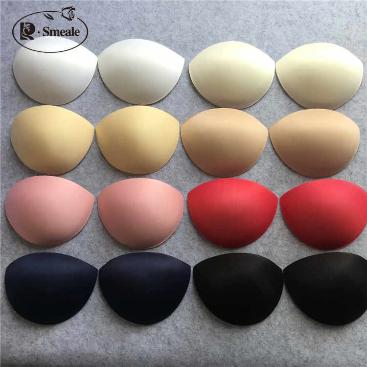 4pairs/lot Breathable swimsuit Wedding dress sponge chest pad thick chest cushion small chest gather on the cushion RS2063