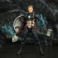 Avengers Endgame Captain America Unmasked with Mjolnir 6inch. 3